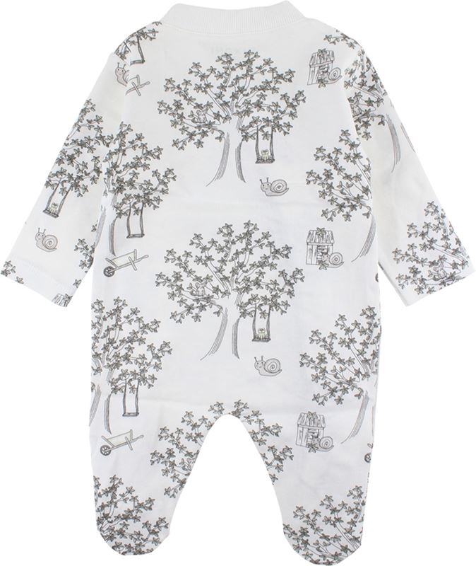 Fixoni Pyjamas 50-80 Med El. Utan Fot Natur - Reko Barn d966390257f5b