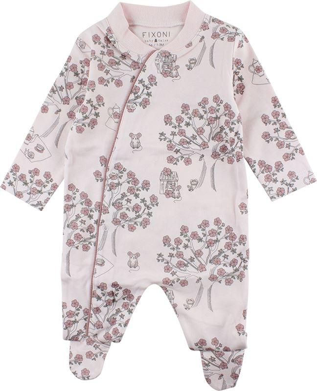 Fixoni Pyjamas 50-80 Med El. Utan Fot Rosa - Reko Barn 0805567ff9cfc